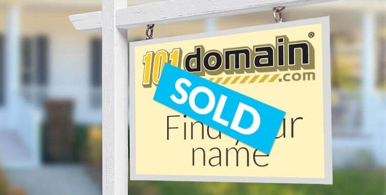Sold by 101domain